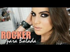 Maquiagem Rocker chic para Balada - YouTube