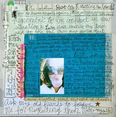 From my April Art Journal | Flickr - Photo Sharing!