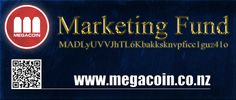Megacoin Marketing Fund  #megacoin #Cryptocurrency #altcoins