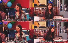 Victorious - Trina and Tori Icarly And Victorious, Victorious Quotes, Victorious Justice, Movies Showing, Movies And Tv Shows, Victory Quotes, Sam And Cat, Old Disney, Jokes