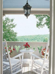 North Carolina porch, my future retirement home--or maybe ocean view would be better. . .decisions decisions