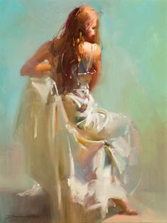 Figure Painting by Richard Schmid