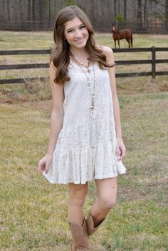 Country Road Lace Dress