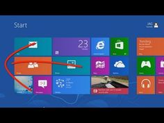 "This video tutorial shows those new to Windows 8 the basics needed to get around the new Windows 8 user interface using the touch interface. The Windows ""Sta. Touch Video, Start Screen, Computer Help, Windows Versions, Any App, Photo Maps, First Language, Old Windows, How To Get"