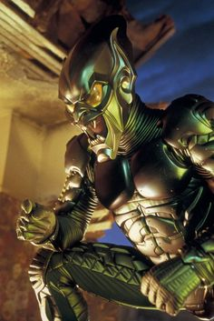 Spider-Man: Norman Osborn/Green Goblin. So cheesy compared to the one in TASM 2