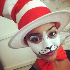 My last minute Halloween idea. Seussical Costumes, Diy Costumes, Halloween Costumes, Costume Ideas, Adult Costumes, Holidays Halloween, Halloween Decorations, Halloween Party, Halloween Ideas