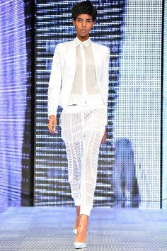 The complete Philipp Plein Spring 2014 Ready-to-Wear fashion show now on Vogue Runway.