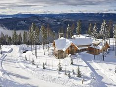 Snow Ghost, Elk Highlands, Whitefish, Montana - Ski in, Ski out, views of Whitefish Lake, Big Mountain, Whitefish Mountain Resort and Glacier National Park