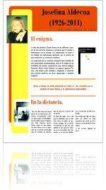 Guía de Lectura sobre Josefina Aldecoa (1926-2011)