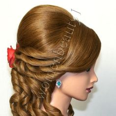 Hair Style Vedios : ... Hairstyles on Pinterest Watch the video, Prom hairstyles and Wedding
