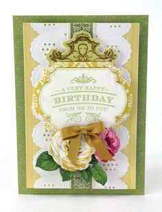 The Anna Griffin Birthday Clear Stamp Set
