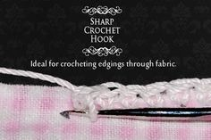 Sharp Crochet Hook - Genius!