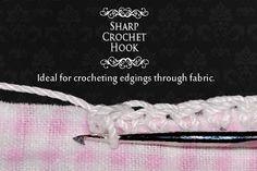 Sharp Crochet Hook - Genius!