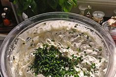 Bresso, homemade – Rebel Without Applause Chutneys, Claudia S, Party Buffet, Tzatziki, Coconut Flakes, Tiny Puppies, Pesto, Fruit Salad, Finger Foods