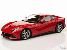 Also known as F12 Berlinetta or the F12,  #Ferrari #F12berlinetta is a sports car manufactured by #Italian company Ferrari. It has won the award of International Engine of the Year in 2013.