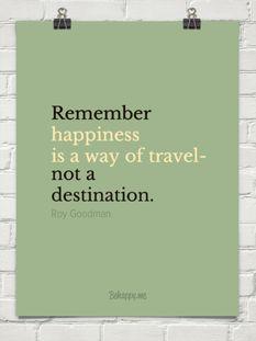 Travel happy <3