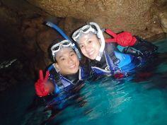 雨でも海の中は透明~^^! - http://www.natural-blue.net/blog/info_1475.html
