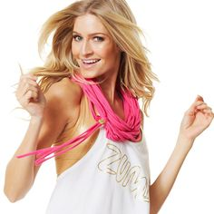 Zumba Fitness To Infinity Scarf and Beyond - Back to the Fuschia | www.GlobalZFitness.com #zumba #zumbaaccessories #fitness #workoutclothes