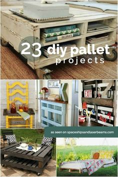 23 DIY Pallet Projects