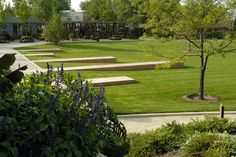 ball horticultural company > corporate campus > HOERR SCHAUDT landscape architects
