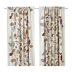 Curtains - Living Room & Bedroom Curtains - IKEA (Stockholm Blad)