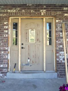 Door started to bubble and chip all the way down to the metal.  I knew it was time to either refinish the door or replace it.  I started looking around for new…