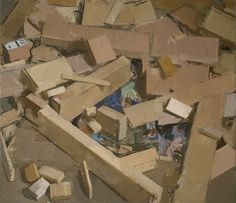 removal, oil on linen, 28 x 32 in, 2009 (private collection)