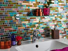 Using Bright Colours in Your Bathroom