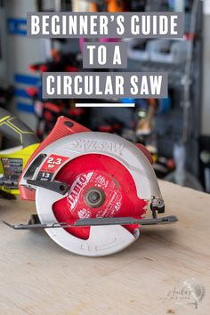 This is the best guide out there! How to use a circular saw step by step with all the details, safety, set up, and video tutorial. #anikasdiylife #woodworking Kreg Jig Projects, Scrap Wood Projects, Woodworking Projects That Sell, Woodworking Tips, Furniture Projects, Furniture Plans, Diy Furniture, Wood Projects For Beginners, Wood Working For Beginners