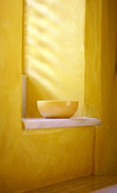 Brie Williams. yellow room