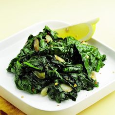 Simple Sauteed Spinach Recipe - EatingWell.com