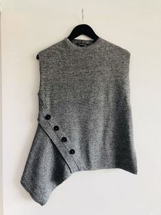 Women's Clothing Clothing, Shoes & Accessories Alannah Hill Black Grey Boxy Cardigan Size 8 Lurex Silver Button-down Loose