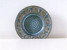 Soholm Denmark Stentoj Table Bowl  Blue and by thelittleblackhouse, kr195.00