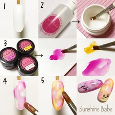 Discover the 10 most popular nail polish colors of all time! Discover the 10 most popular nail polish colors of all time! Gel Nail Art, Nail Art Diy, Diy Nails, Love Nails, Pretty Nails, Water Color Nails, Nail Techniques, Japanese Nail Art, Painted Nail Art