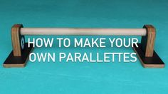 Parallettes, sometimes also called push-up bars, are a compact version of parallel bars that you can use for more advanced upper body, gymnastic-like exercises in the comfort of your home. Here are some DIY options for parallettes that fit a different range of budgets.