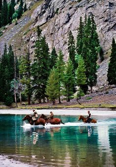 "Picturesque view of "" Mahodand Lake"" in Swat, Pakistan."