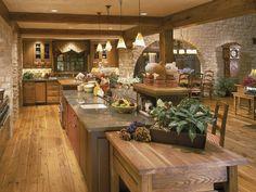 Eldarado Stone in austin cream limestone for kitchen
