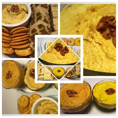 Cheese paste with roasted peppers and garlic and walnuts Roasted Peppers, Quick Meals, Hummus, Garlic, Sandwiches, Tasty, Stuffed Peppers, Cheese, Cooking
