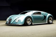 Photoshopped VW looks like a vintage veyron. Still beautiful. Perhaps someone should make one.