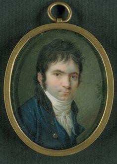 Ludwig van Beethoven (1770-1827), painting (1803), by Christian Horneman (1765-1844).