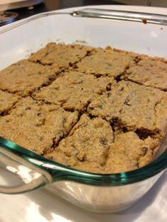 Gluten Free Cookie Bars