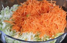 Această salată matinală te ajută să slăbești frumos și sănătos – cum se prepară? - Diet Menu, Carrots, Cabbage, Good Food, Food And Drink, Low Carb, Vegan, Vegetables, Cooking