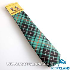 Clan Macaulay Hunting Ancient Tartan Tie