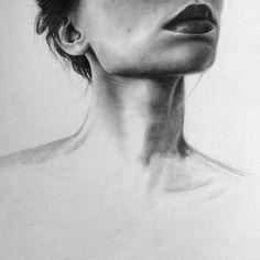 Graphite Drawings, Pencil Art Drawings, Art Drawings Sketches, Cool Drawings, A Level Art Themes, Art Alevel, Human Drawing, La Art, Art Station