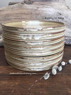 """Seconds, Dinner plates, Reduced, 10"""" Dinner Plates, Pottery Dinnerware, Place Setting, Dinner Plates, Pottery, Dinnerware, Handmade Pottery"""