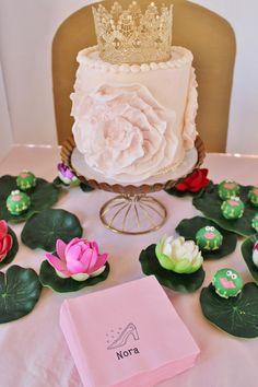 Cake + Cake Balls from a Princess Birthday Party via Kara's Party Ideas | KarasPartyIdeas.com (17)