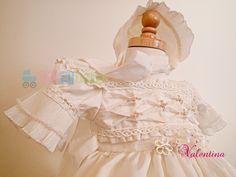 Baptism Gown for girl    mod. Valetina