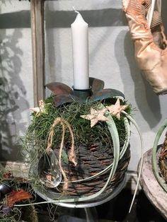 Juledemonstration – Bruun's Have Advent, Christmas Decorations, Table Decorations, Plant Hanger, November, Jar, Inspiration, Plants, Home Decor