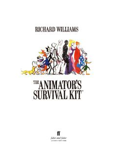 Another book I have, The animators survival kit by Richard Williams. A great book