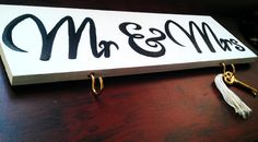 Cute for newlyweds! FOR SALE $15 www.etsy.com/shop/lafulppaint